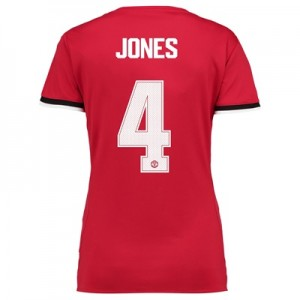 Manchester United Home Cup Shirt 2017-18 – Womens with Jones 4 printin