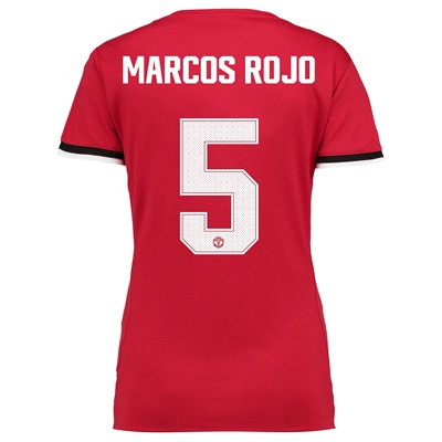 Manchester United Home Cup Shirt 2017-18 – Womens with Marcos Rojo 5 p