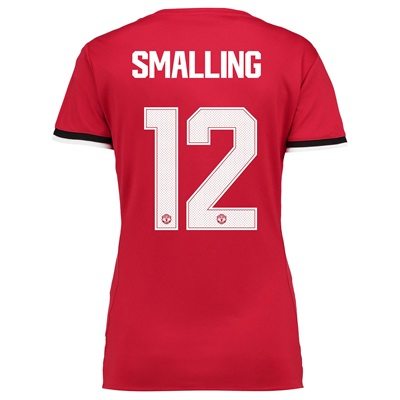 Manchester United Home Cup Shirt 2017-18 – Womens with Smalling 12 pri