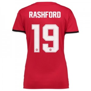 Manchester United Home Cup Shirt 2017-18 – Womens with Rashford 19 pri