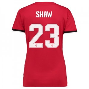 Manchester United Home Cup Shirt 2017-18 – Womens with Shaw 23 printin