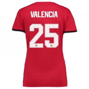 Manchester United Home Cup Shirt 2017-18 – Womens with Valencia 25 pri