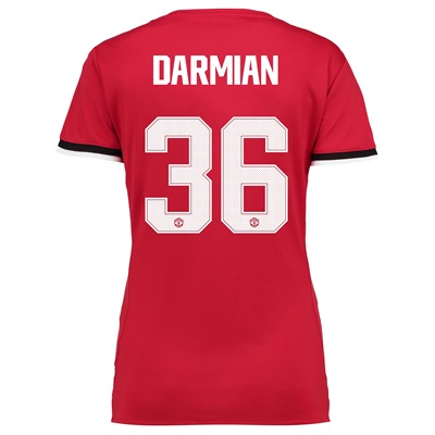 Manchester United Home Cup Shirt 2017-18 – Womens with Darmian 36 prin