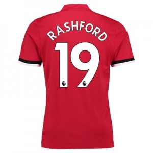 Manchester United Home Shirt 2017-18 with Rashford 19 printing