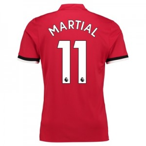 Manchester United Home Shirt 2017-18 – Kids with Martial 11 printing