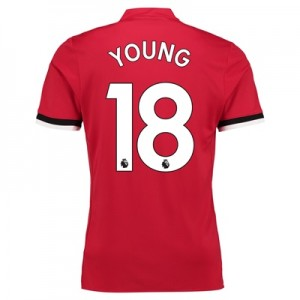 Manchester United Home Shirt 2017-18 – Kids with Young 18 printing