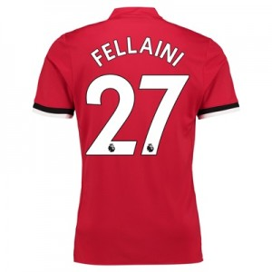 Manchester United Home Shirt 2017-18 – Kids with Fellaini 27 printing