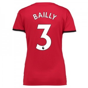 Manchester United Home Shirt 2017-18 – Womens with Bailly 3 printing