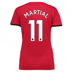 Manchester United Home Shirt 2017-18 – Womens with Martial 11 printing