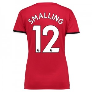 Manchester United Home Shirt 2017-18 – Womens with Smalling 12 printin