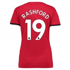 Manchester United Home Shirt 2017-18 – Womens with Rashford 19 printin