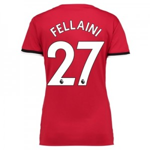 Manchester United Home Shirt 2017-18 – Womens with Fellaini 27 printin