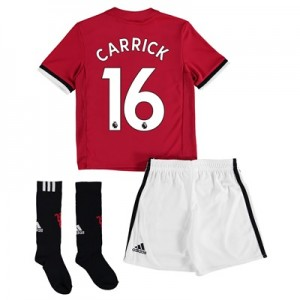 Manchester United Home Mini Kit 2017-18 with Carrick 16 printing