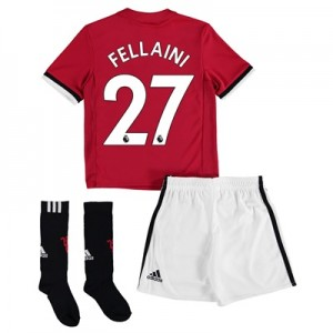 Manchester United Home Mini Kit 2017-18 with Fellaini 27 printing