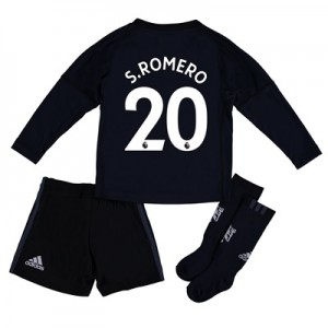 Manchester United Home Goalkeeper Mini Kit 2017-18 with S.Romero 20 pr
