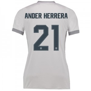 Manchester United Third Cup Shirt 2017-18 – Womens with Ander Herrera