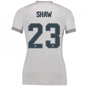 Manchester United Third Cup Shirt 2017-18 – Womens with Shaw 23 printi