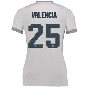 Manchester United Third Cup Shirt 2017-18 – Womens with Valencia 25 pr