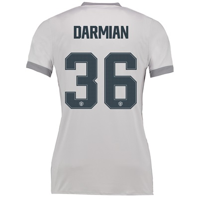 Manchester United Third Cup Shirt 2017-18 – Womens with Darmian 36 pri