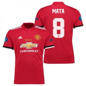 Manchester United Super Cup Final Home Shirt 2017-18 – Kids with Mata