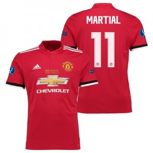 Manchester United Super Cup Final Home Shirt 2017-18 – Kids with Marti