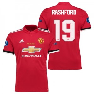 Manchester United Super Cup Final Home Shirt 2017-18 – Kids with Rashf