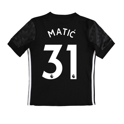 Manchester United Away Shirt 2017-18 – Kids with Matic 31 printing