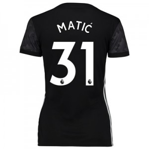 Manchester United Away Shirt 2017-18 – Womens with Matic 31 printing