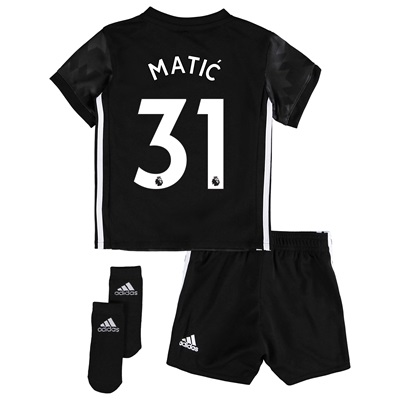 Manchester United Away Baby Kit 2017-18 with Matic 31 printing