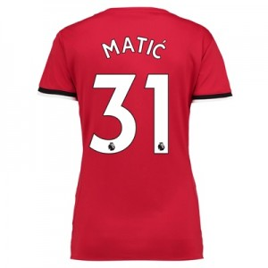 Manchester United Home Shirt 2017-18 – Womens with Matic 31 printing