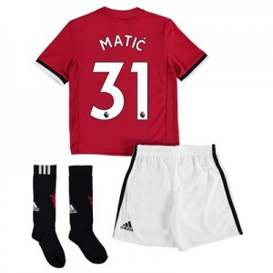 Manchester United Home Mini Kit 2017-18 with Matic 31 printing