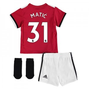 Manchester United Home Baby Kit 2017-18 with Matic 31 printing
