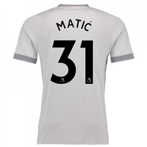 Manchester United Third Shirt 2017-18 with Matic 31 printing