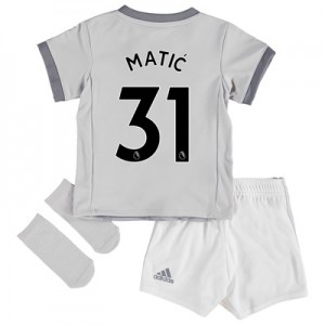 Manchester United Third Baby Kit 2017-18 with Matic 31 printing