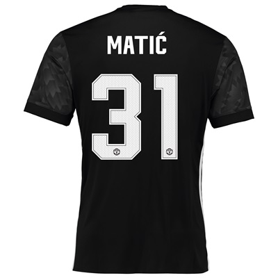 Manchester United Away Cup Shirt 2017-18 with Matic 31 printing