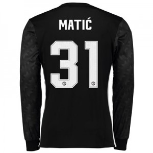 Manchester United Away Cup Shirt 2017-18 – Long Sleeve with Matic 31 p