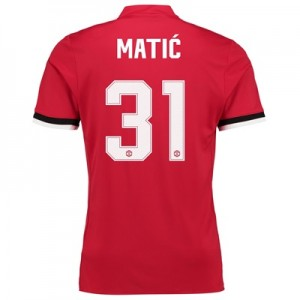 Manchester United Home Cup Shirt 2017-18 – Kids with Matic 31 printing
