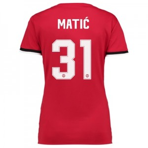 Manchester United Home Cup Shirt 2017-18 – Womens with Matic 31 printi