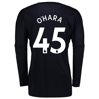 Manchester United Home Goalkeeper Shirt 2017-18 with O'Hara 45 printin