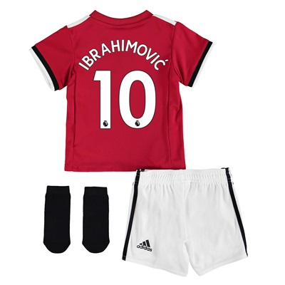 Manchester United Home Baby Kit 2017-18 with Ibrahimovic 10 printing