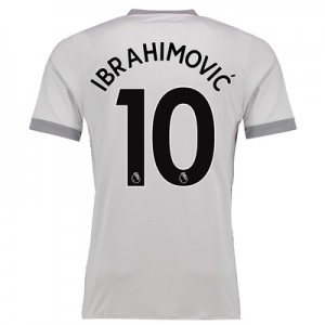 Manchester United Third Shirt 2017-18 with Ibrahimovic 10 printing