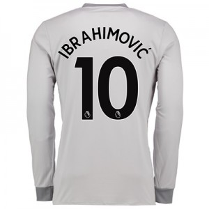Manchester United Third Shirt 2017-18 – Kids – Long Sleeve with Ibrahi