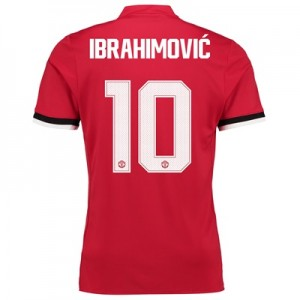 Manchester United Home Cup Shirt 2017-18 with Ibrahimovic 10 printing