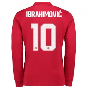 Manchester United Home Cup Shirt 2017-18 – Long Sleeve with Ibrahimovi