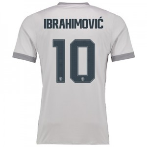 Manchester United Third Cup Shirt 2017-18 with Ibrahimovic 10 printing