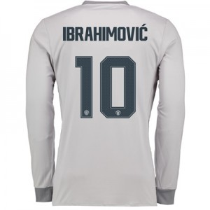 Manchester United Third Cup Shirt 2017-18 – Long Sleeve with Ibrahimov