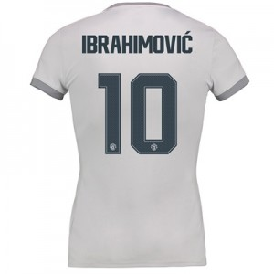 Manchester United Third Cup Shirt 2017-18 – Womens with Ibrahimovic 10