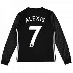Manchester United Away Shirt 2017-18 – Kids – Long Sleeve with Alexis