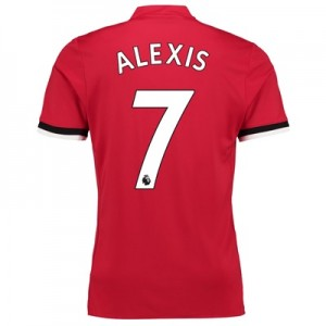 Manchester United Home Shirt 2017-18 – Kids with Alexis 7 printing