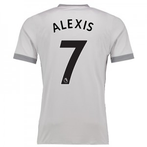 Manchester United Third Shirt 2017-18 with Alexis 7 printing